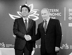 Не исключено, что в декабре на встрече в Ямагути Владимир Путин и Синдзо Абэ приблизятся наконец к заключению мирного договора