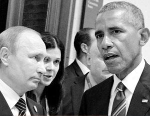 В Ханчжоу Путин предпоследний раз встретился с Обамой как с президентом