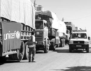 ООН приостановила отправку всех гуманитарных конвоев в Сирию