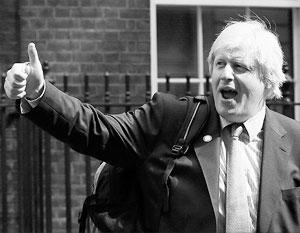 Борис Джонсон давно известен своей эксцентричностью