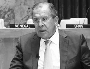 """США извинились перед Асадом за удар по сирийской армии. Интервью С.В.Лаврова для программы """"Вести в субботу"""", 24 сентября 2016г."""