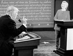 В мире: Эксперты оценили первые дебаты Клинтон и Трампа