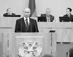 «Избирательная кампания прошла открыто, в честной, конкурентной борьбе... Вижу в безусловной легитимности парламента залог силы и авторитета законодательной власти», – подчеркнул президент, обращаясь к депутатам нового созыва