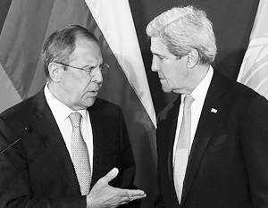 Несмотря на «разрыв двусторонних контактов», двусторонние контакты между Лавровым и Керри почему-то продолжаются