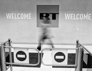 Политика: Проблемы RT создает банк, контролируемый британским правительством