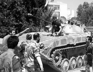 В мире: Выбор следующей цели для сирийской армии нельзя назвать легким