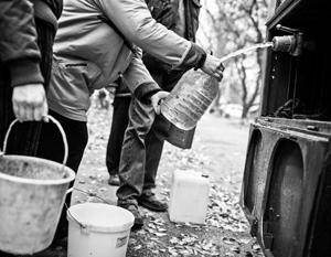 Нехватку питьевой воды ЛНР испытывает с 2014 года
