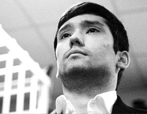 Руслан Шамсуаров в зале суда