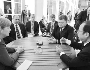 19 октября состоится встреча «нормандской четверки» в Берлине