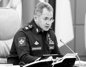 Шойгу: Операция в Сирии выявила ряд недостатков российской военной техники