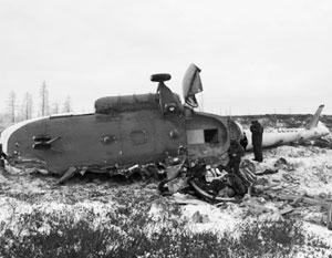 С причинами крушения вертолета Ми-8 на Ямале разберутся СКР и Росавиация