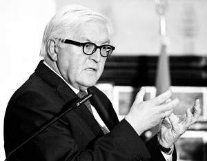 Штайнмайер раскритиковал предложение ввести санкции против России из-за Сирии