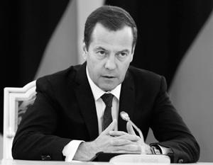 Медведев поручил «взбодрить» руководство Тверской области