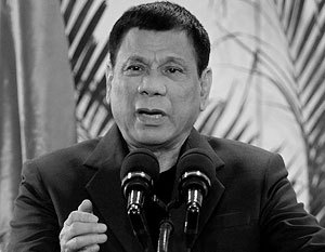 Президент Филиппин отверг возможность разрыва военного союза с США