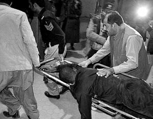Число жертв нападения на полицейских в Пакистане достигло 59 человек