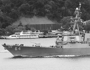 Источник: Эсминец ВМС США с системой ПРО находится в районе румынского порта