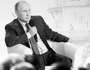 Диалог Путина с крымскими активистами ОНФ был достаточно предметным