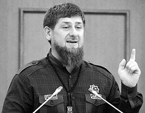 «Модель бюджета, которую нам предлагает федеральный центр, неприемлема», – заявил Кадыров