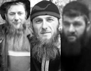 Турция много лет не отказывала в гостеприимстве таким боевикам, как Тархан Газиев, Махран Саидов и Асламбек Вадалов (слева направо)