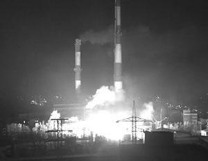 Мурманск остался без света из-за взрыва на подстанции (видео)