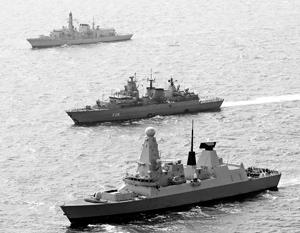 Для обслуживания и ремонта некоторых кораблей своего флота бывшая хозяйка морей вынуждена приглашать французских специалистов
