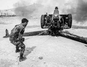 Артиллерийская подготовка на некоторых участках фронта длилась 48 часов
