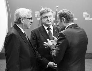 18-й саммит войдет в историю: Петр Порошенко, похоже, начал догадываться, что западные коллеги три года водили его за нос