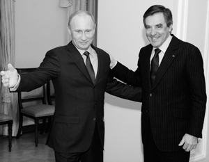 Путин и Фийон смогут разговаривать на равных – как два президента двух суверенных государств