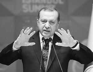 Эрдоган: Турецкие военные пришли в Сирию, чтобы положить конец правлению Асада