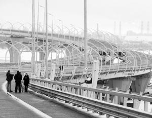 Путин открыл участок автомагистрали «Западный скоростной диаметр» в Петербурге