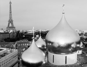 Патриарх Кирилл освятил новый кафедральный Троицкий собор в Париже