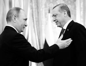 Переговоры Путина и Эрдогана прошли на позитивной волне, но заветных уступок от России турецкий гость не получил