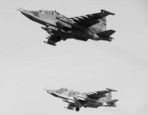 Российские Су-25 из Киргизии переброшены на учения в Таджикистан