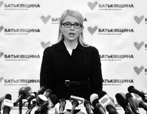 Все как встарь: как и при Кучме и Януковиче, Тимошенко бранит власть за «административный ресурс, подкуп, репрессии»