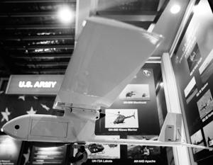 В Киеве посетовали на то, что защитники ДНР и ЛНР могут относительно легко взламывать и перехватывать американские дроны Raven RQ-11B Analog