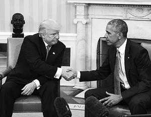 Республиканцы заявили, что 70% указов Барака Обамы могут быть аннулированы после прихода в Белый дом Дональда Трампа