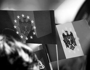 Теперь в Молдавии не приветствуется злоупотребление символикой Евросоюза
