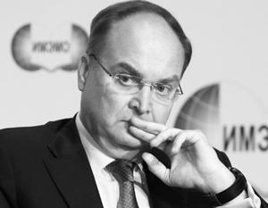 Путин назначил замминистра обороны Антонова замглавы МИДа