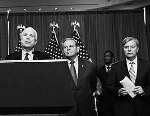 У Джона Маккейна и его единомышленников сформировался рефлекс: слышат «Россия», говорят «санкции»