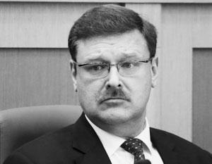 Косачев нашел ошибки в докладе о российской вербовке Трампа