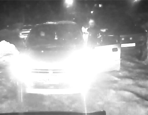Опубликовано видео инцидента с блокированием проезда скорой на Камчатке