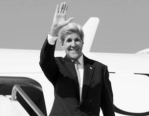 Джон Керри неожиданно посетил Тбилиси