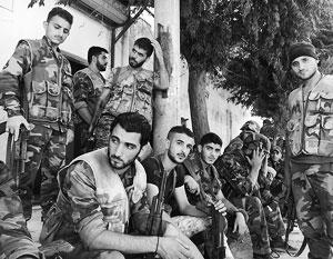 США ввели санкции против армии Сирии