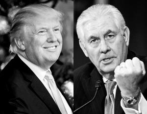 Политика: О новом миропорядке Трампу и Тиллерсону придется договариваться с Москвой и Пекином