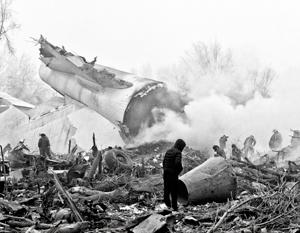 Потерпевший крушение самолет выполнял рейс Гонконг – Бишкек - Стамбул