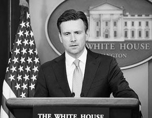 Белый дом ответил на заявление Путина о попытках подорвать легитимность Трампа