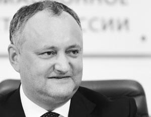 Президент Молдавии заявил о «наметках» по урегулированию долга перед Газпромом