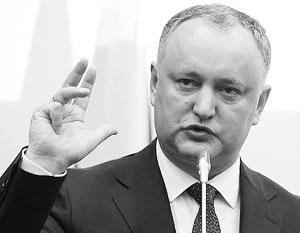 Президент Молдавии готов расплатиться по многомиллардным долгам с Газпромом
