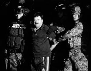 Наркобарон Коротышка экстрадирован в США