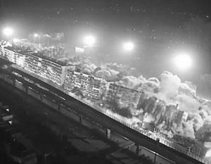 Сразу 19 многоэтажных домов взорвали в китайском городе Ухань (видео)